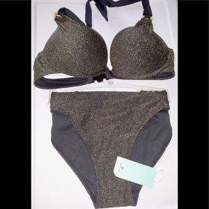 DORINA GLIMMER TWO PIECES BATHING SUIT.✔️